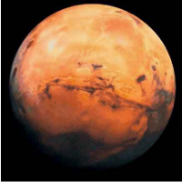 Tisdagen tillhör Mars